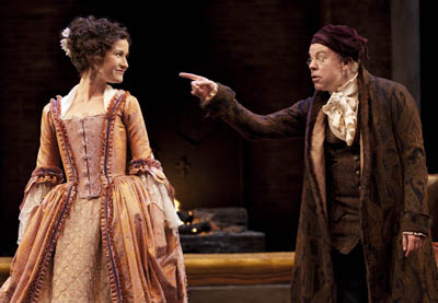 National Theatre Live: <br>She Stoops to Conquer