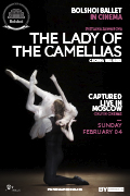 Bolshoi Ballet 17/18 Season: The Lady of the Camellias - Encore!