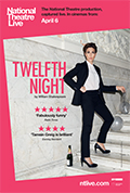 National Theatre Live: <br>Twelfth Night