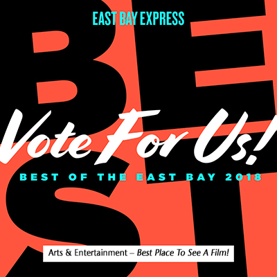 Nominate Us!  2018 EBX Best of the East Bay!