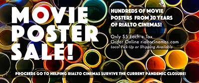 Rialto Cinemas Movie Poster Sale!